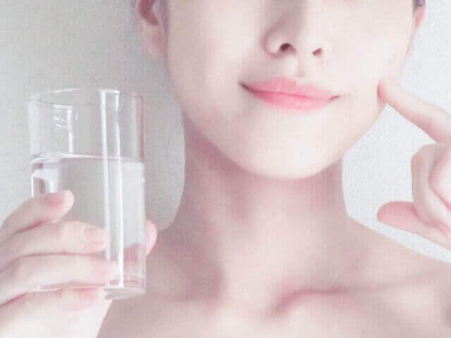 水分補給の出来たくすみのない肌